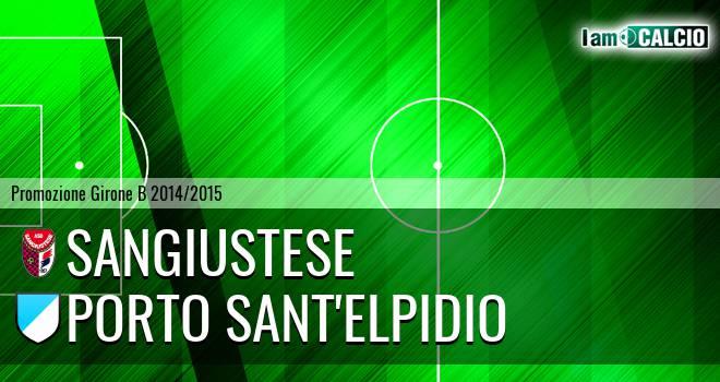 Sangiustese - Atletico Porto Sant'Elpidio