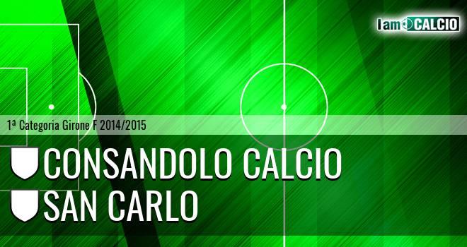 Consandolo Calcio - San Carlo
