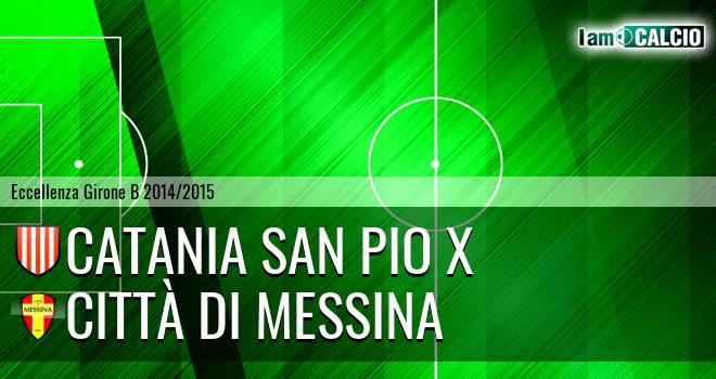 Catania San Pio X - FC Messina