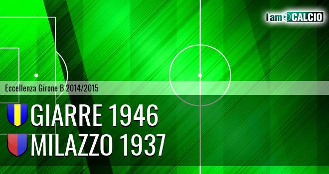 Giarre 1946 - Milazzo 1937