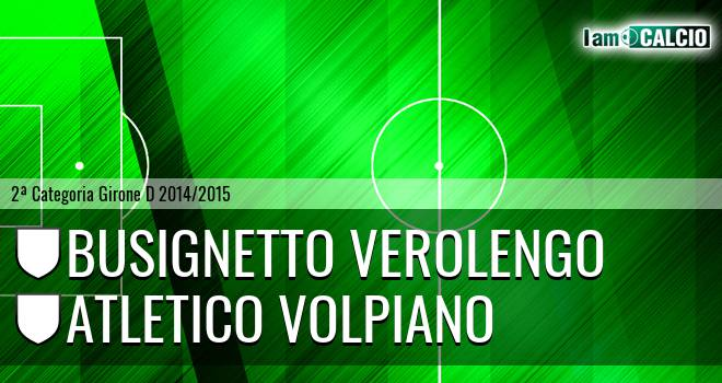 Busignetto Verolengo - Atletico Volpiano