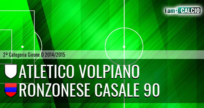 Atletico Volpiano - Ronzonese Casale 90