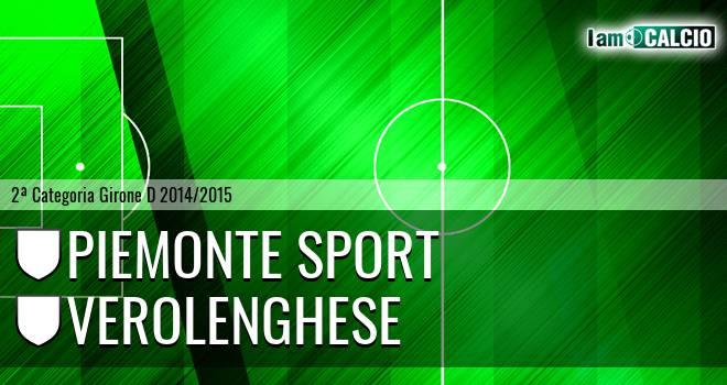 Piemonte Sport - Verolenghese