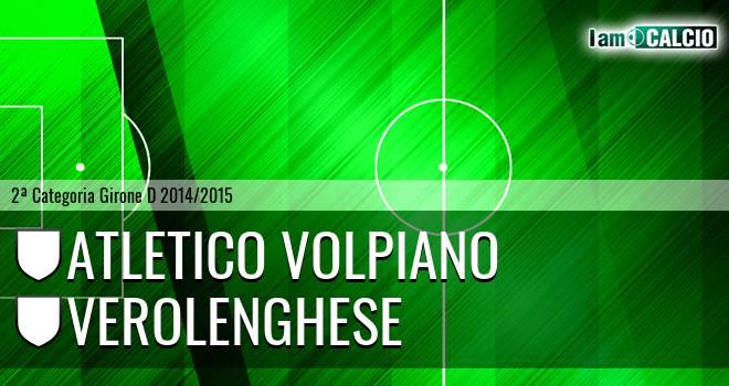 Atletico Volpiano - Verolenghese