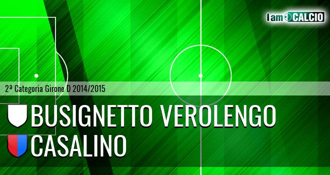 Busignetto Verolengo - Casalino