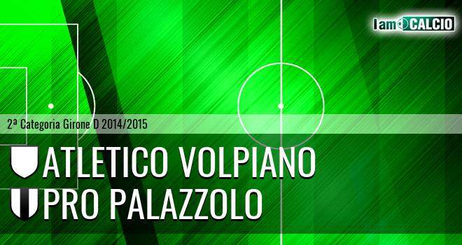 Atletico Volpiano - Pro Palazzolo