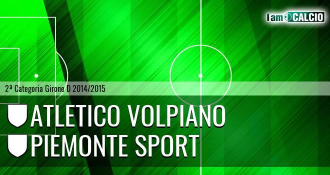 Atletico Volpiano - Piemonte Sport