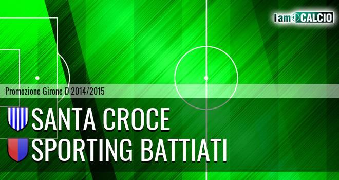 Santa Croce - Sporting Battiati