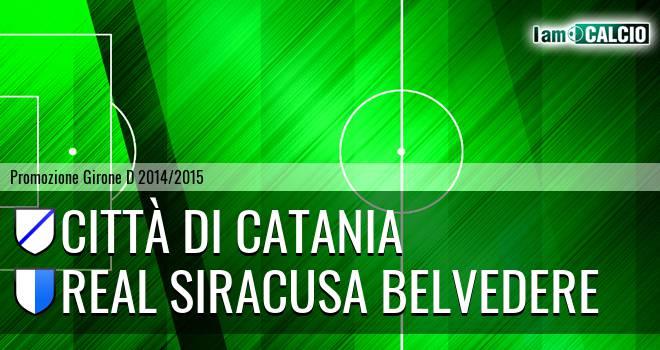 Città di Catania - Real Siracusa Belvedere