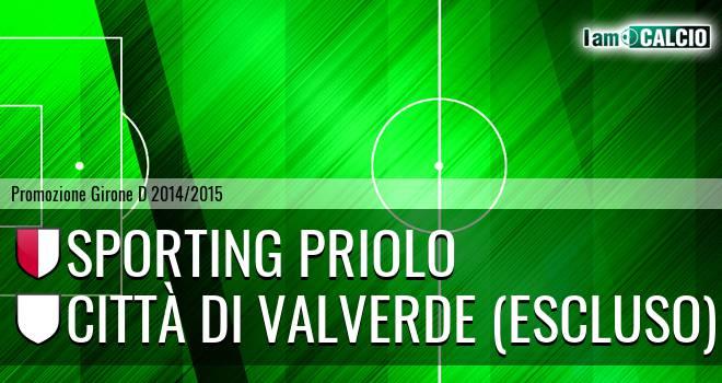 Climiti FC San Paolo Priolo - Città di Valverde (Escluso)