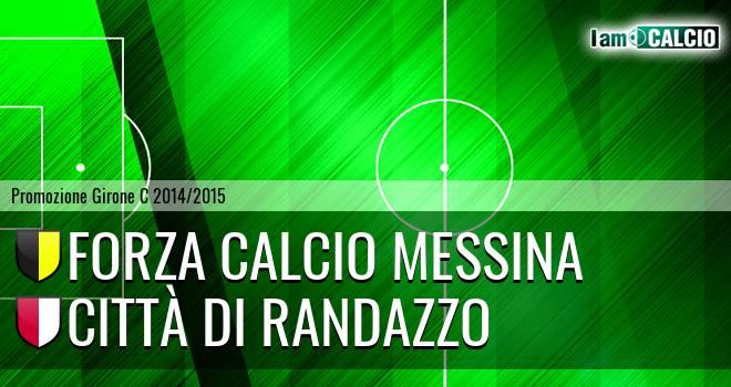 Forza Calcio Messina - Città di Randazzo