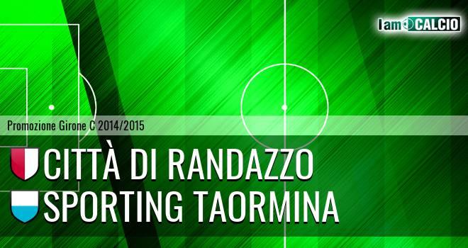 Città di Randazzo - Sporting Taormina