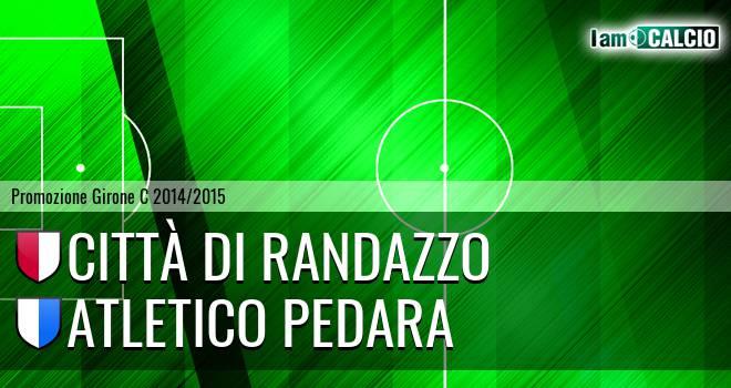 Città di Randazzo - Atletico Pedara