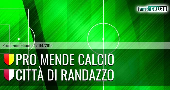Pro Mende Calcio - Città di Randazzo