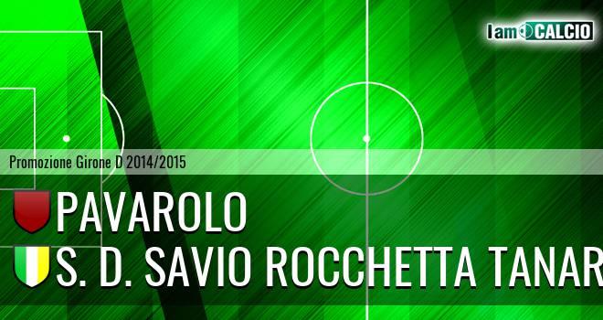 Pavarolo - S. D. Savio Rocchetta Tanaro