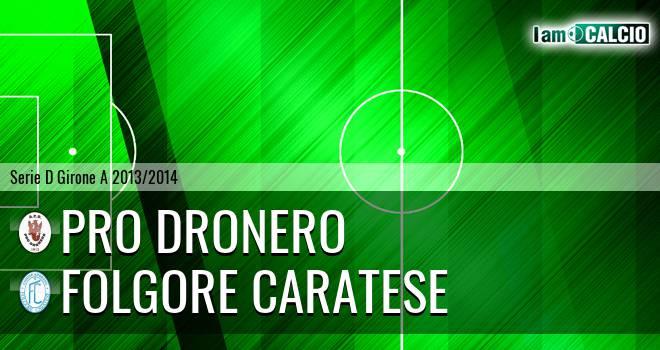 Pro Dronero - Folgore Caratese
