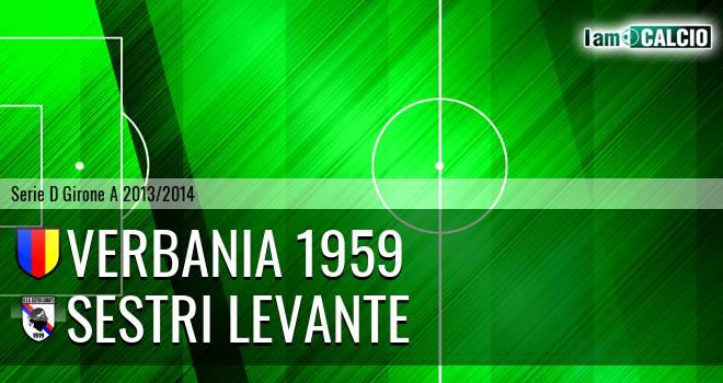 Verbania 1959 - Sestri Levante