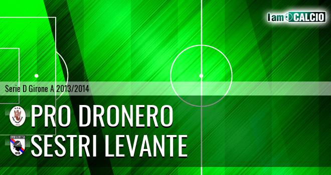 Pro Dronero - Sestri Levante