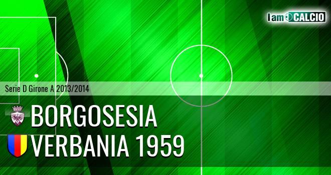 Borgosesia - Verbania 1959