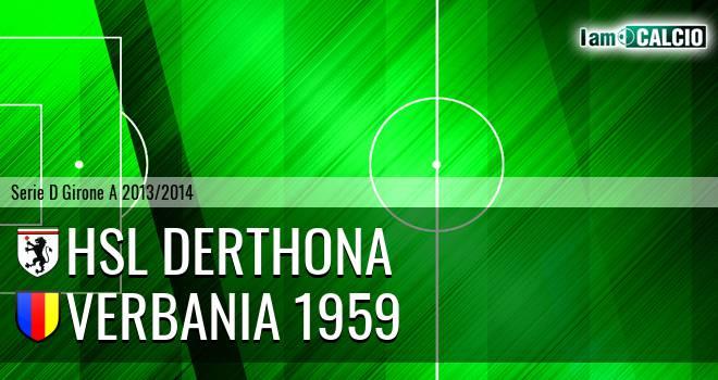 HSL Derthona - Verbania 1959