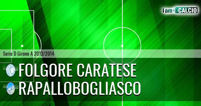 Folgore Caratese - RapalloBogliasco