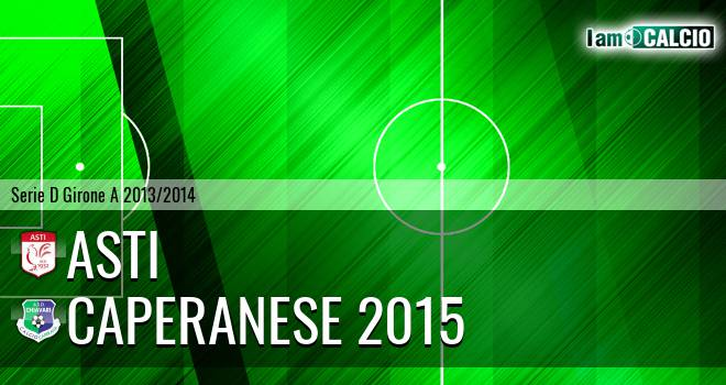Asti - Caperanese 2015