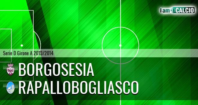 Borgosesia - RapalloBogliasco