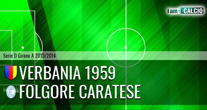 Verbania 1959 - Folgore Caratese