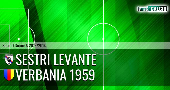 Sestri Levante - Verbania 1959