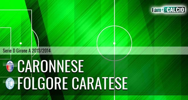 Caronnese - Folgore Caratese