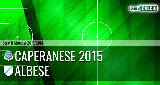 Caperanese 2015 - Albese