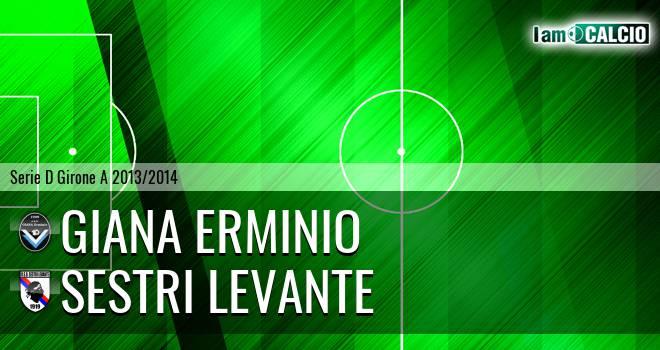 Giana Erminio - Sestri Levante