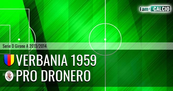 Verbania 1959 - Pro Dronero