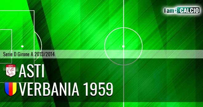 Asti - Verbania 1959