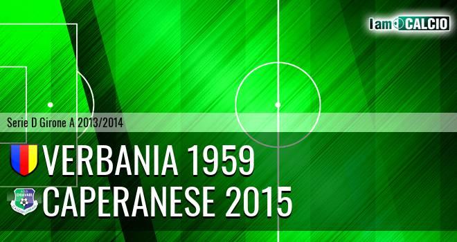 Verbania 1959 - Caperanese 2015