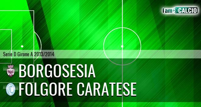 Borgosesia - Folgore Caratese