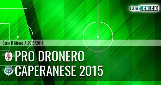 Pro Dronero - Caperanese 2015