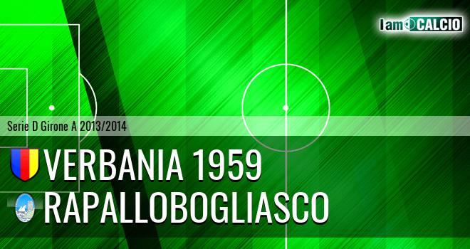 Verbania 1959 - RapalloBogliasco