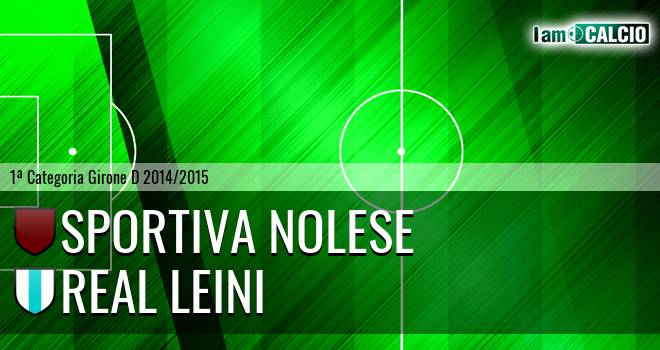 Sportiva Nolese - River Leinì