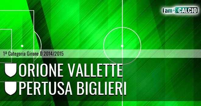Orione Vallette - Pertusa Biglieri
