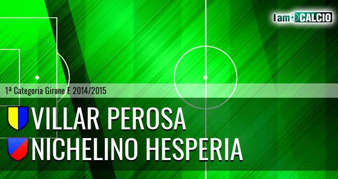 Villar Perosa - Nichelino Hesperia