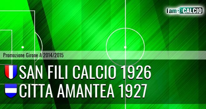 San Fili Calcio 1926 - Città Amantea