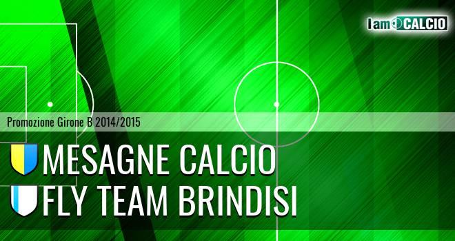 Mesagne Calcio - Fly Team Brindisi