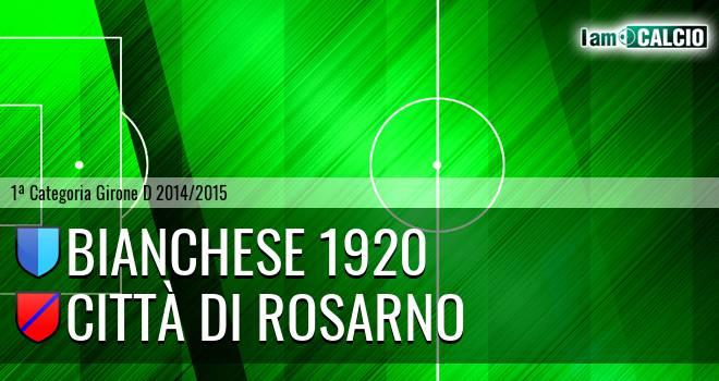Bianchese 1920 - Città di Rosarno
