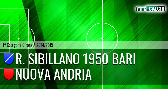 R. Sibillano 1950 Bari - Nuova Andria