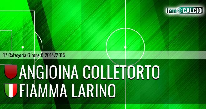 Angioina Colletorto - Fiamma Larino