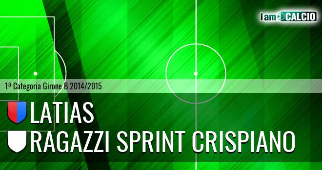 Latias - Ragazzi Sprint Crispiano