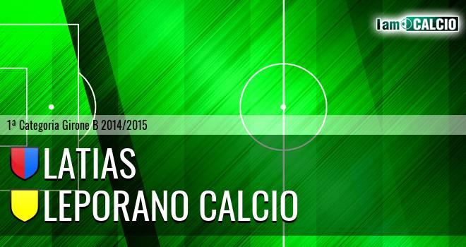 Latias - Leporano Calcio