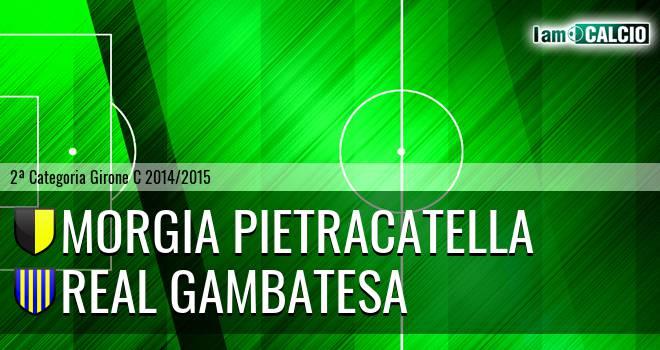 Morgia Pietracatella - Real Gambatesa