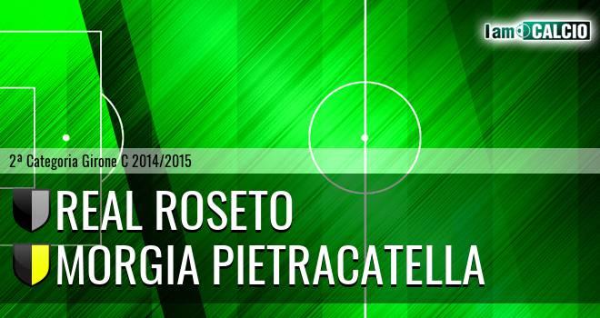 Real Roseto - Morgia Pietracatella